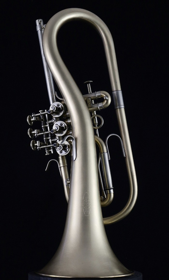 Twugelhorn - Top Action Rotary Flugelhorn in Bb